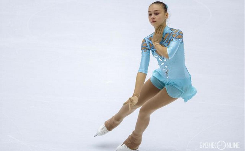 Тулячка впервые выступила на Первенстве России по фигурному катанию