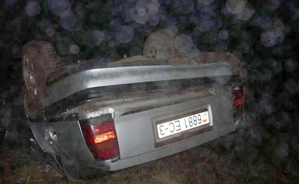 В Тульской области по вине пьяного водителя произошло ДТП