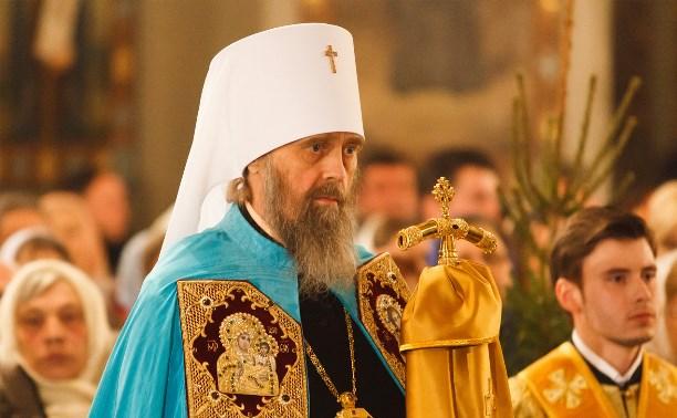 Митрополит Алексий поздравил туляков с Рождеством