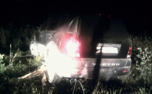 Ночью в Щёкинском районе автомобиль без водителя сбил человека