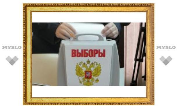 Выборы в Тульской области: первые данные