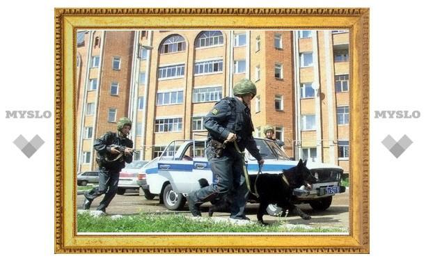 Щекинский грабитель ранил милиционера