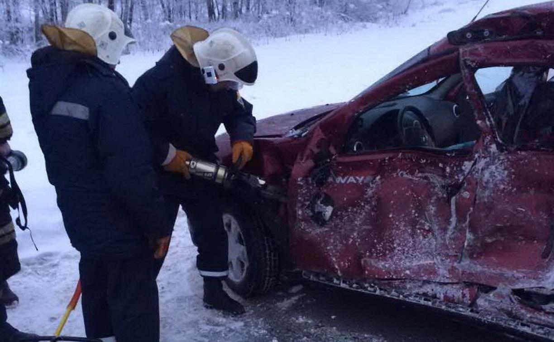 У деревни Семеновка под Тулой в ДТП погибла женщина-водитель