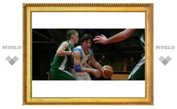 Тульские баскетболисты разгромили соперника
