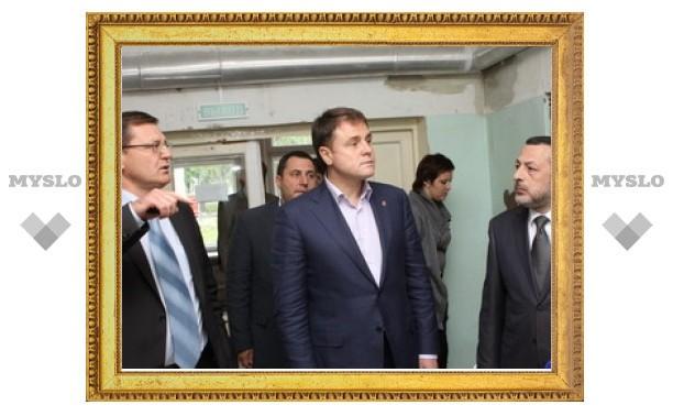 Губернатор остался недоволен посещением больницы в Ефремове