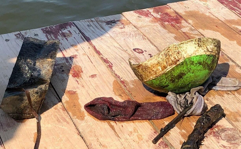 Что обнаружили водолазы в пруду Центрального парка Тулы