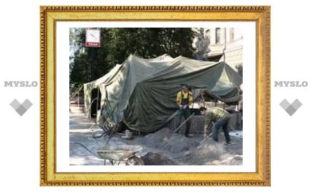 Сквер на ул. Первомайской расширяют