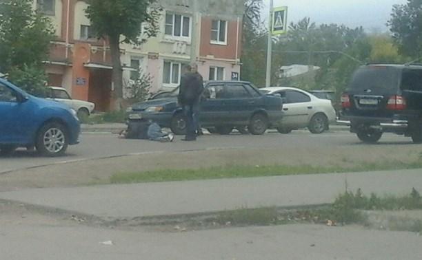 В Туле на улице Кутузова сбили пешехода