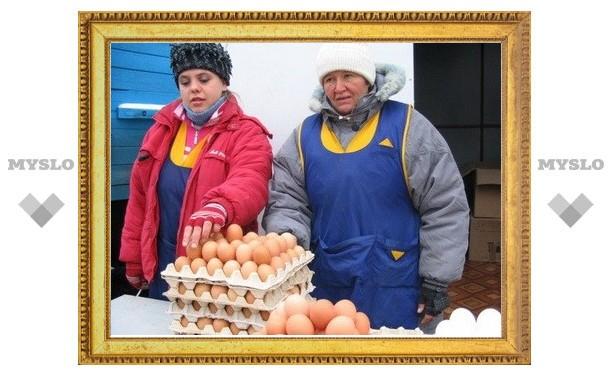 В Туле из-за мороза закрывается ярмарка
