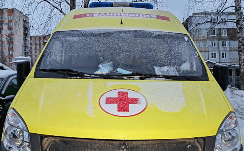 На ул. Баженова в Туле из окна выпала женщина