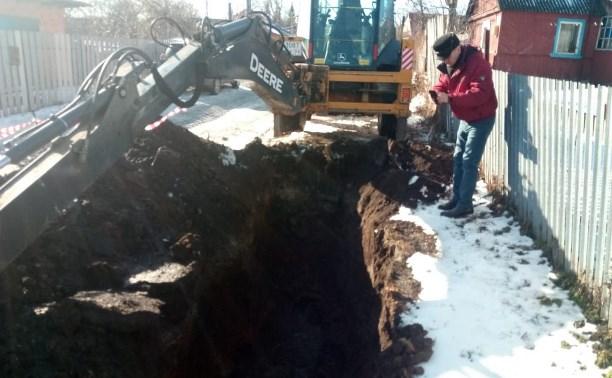 В Киреевске более 20 тысяч человек остались без воды