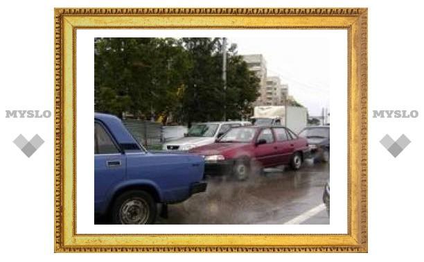В Туле столкнулись 4 машины