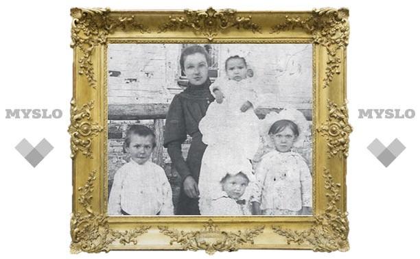 На старых фото – молодость семьи