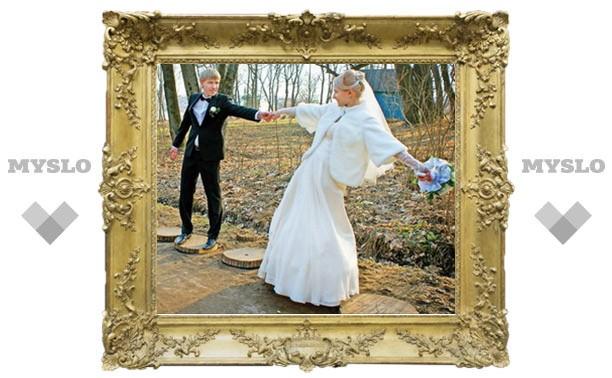 Осенняя свадьба – очей очарованье!