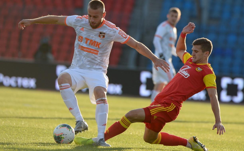 Первый тайм матча «Арсенал» – «Урал» завершился вничью