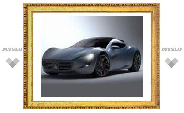 Новое купе Maserati создал студент из Украины