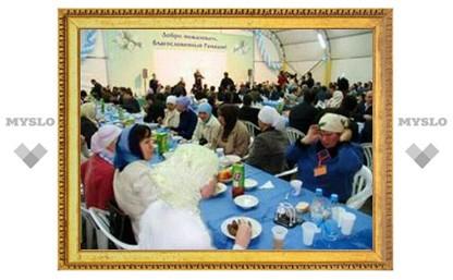 В Москве открылся шатер рамадана