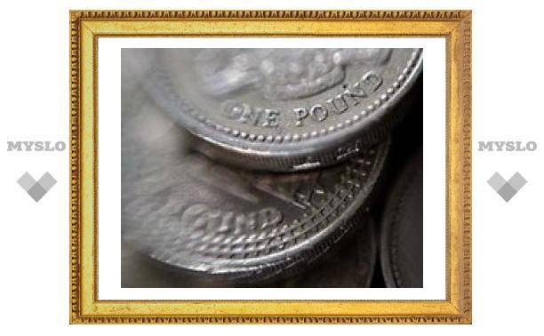 Британский фунт-исторический минимум по отношению к евро