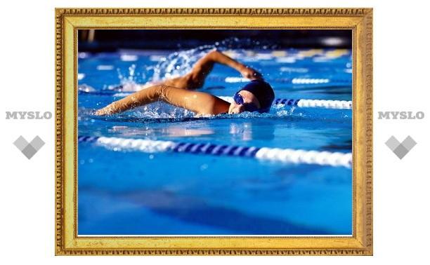 Тульские пловцы установили новый рекорд