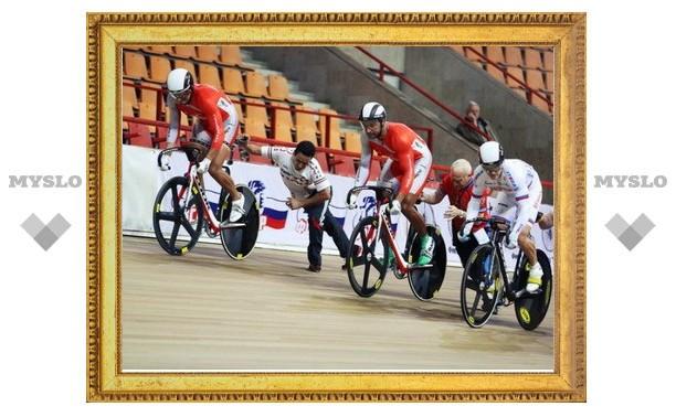 Тульские велосипедисты пока в призеры не попали