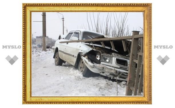 """Водитель разбившейся в Туле на Павшинском мосту """"Волги"""" был пьян"""