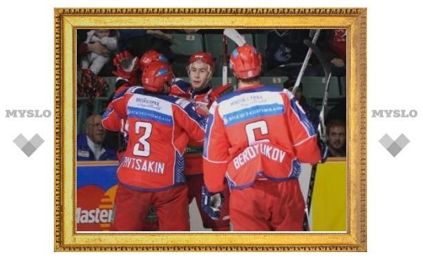 Молодежная сборная России по хоккею выиграла серию у канадцев