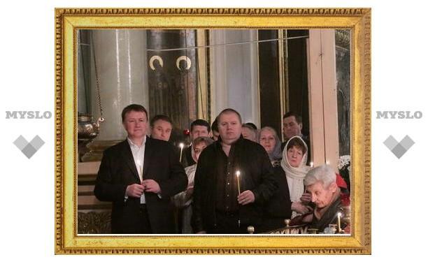 Вячеслав Дудка посетил Пасхальные богослужения