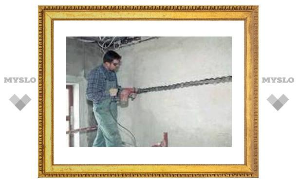 В Туле ремонтируют дома