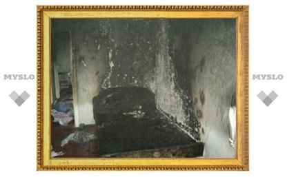В Туле на пожаре в многоэтажке погиб мужчина