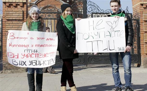 Туляки вышли на пикет «Благовещение без жертв»