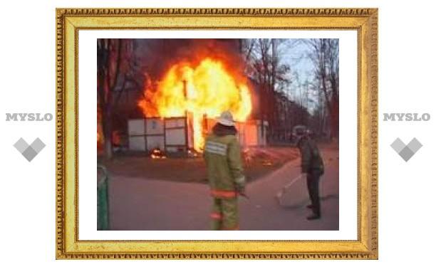 Тульский ребенок спалил три гаража
