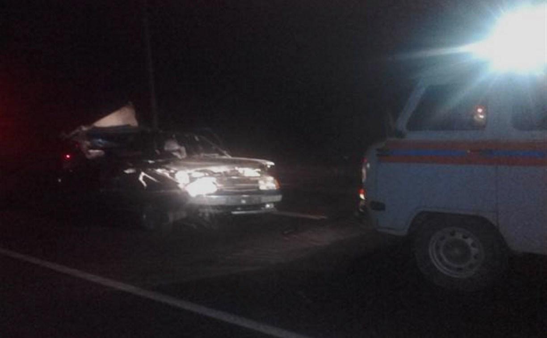В Плавском районе столкнулись «ГАЗель» и легковушка