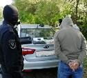 Тульские полицейские нашли в автомобиле наркотики: водитель задержан