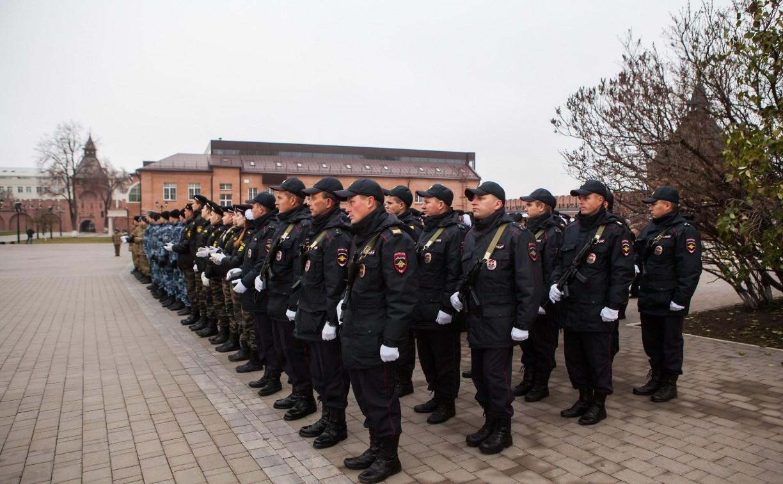В Туле чествовали сотрудников органов внутренних дел