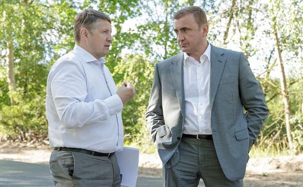 Алексей Дюмин поручил Евгению Авилову убрать провода с улиц под землю