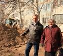Жители Заречья: Территорию возле нашего дома незаконно захватили строители