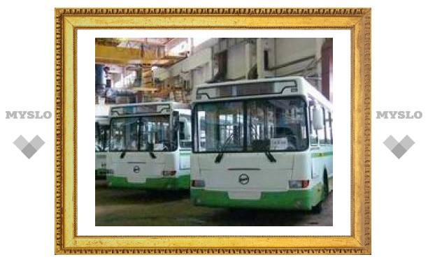 На улицы Тулы пустят экологически чистые автобусы
