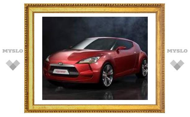 Новое заднеприводное купе Hyundai покажут в 2008 году
