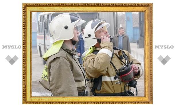 Пожарные потушили Тульский хлебокомбинат