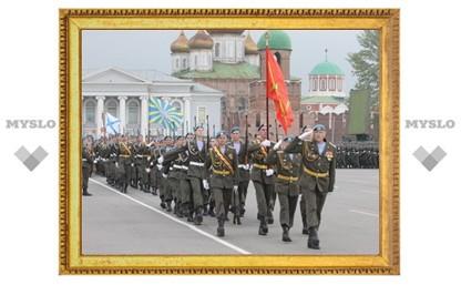 В Туле отметили годовщину Победы
