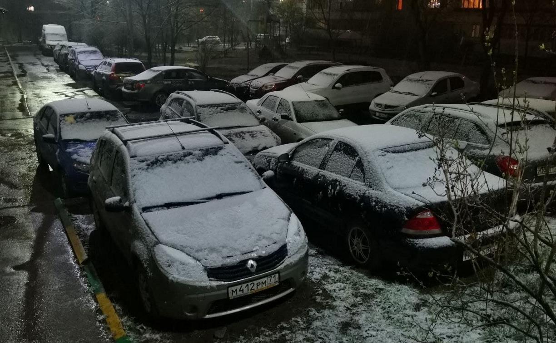 ГИБДД предупреждает туляков об ухудшении погодных условий