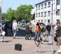 Новомосковск стал съемочной площадкой для нового фильма «Выше всех»