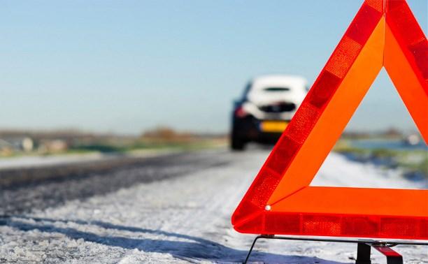 Трасса «Тула-Калуга» оказалась перекрыта из-за нескольких ДТП