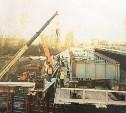 Мост в Узловой полностью перекрыли до 15 апреля