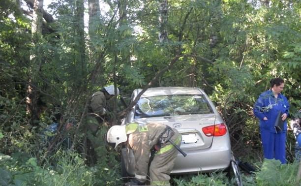 В Узловском районе столкнулись «Хёндэ» и «Фольксваген»
