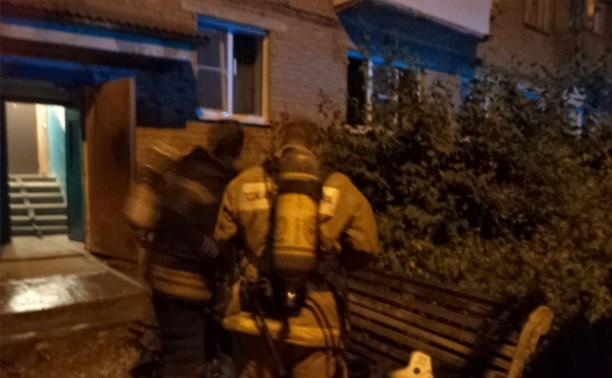 В Алексине три человека погибли из-за непотушенной сигареты