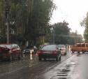 В Туле на улице Руднева произошло тройное ДТП