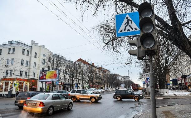 В Туле четыре дня не работают светофоры на пр. Ленина и ул. Л. Толстого