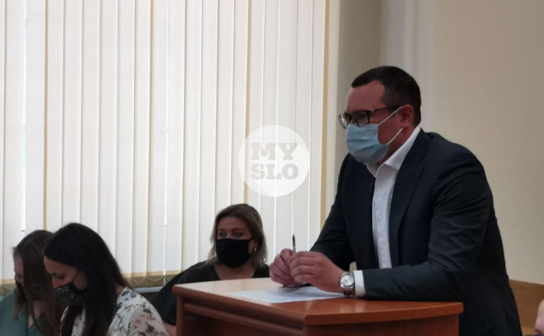 Дело о мене Центрального стадиона на депо в Туле: в суд прибыл Валерий Шерин