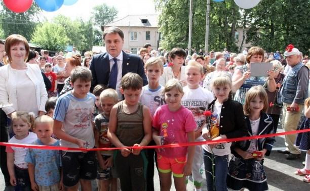 Богородицкие переселенцы получили ключи от новых квартир